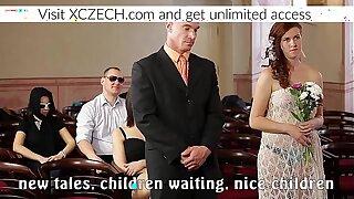 Czech Porn Wedding with Orgy