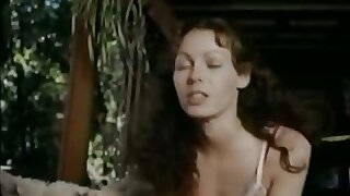 Sexy lingerie babe in classic xxx footage